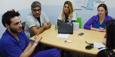 Trabajo clave. Fernando Paván Vitale, Guillermo Gallardo, Selva Cattáneo y  María Laura Coutaz.