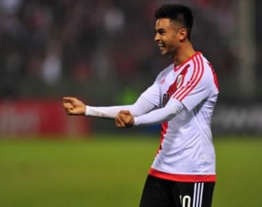 """""""Pity"""" Martínez reconoció que no le dio al arco en el gol que salvó a River en el final."""