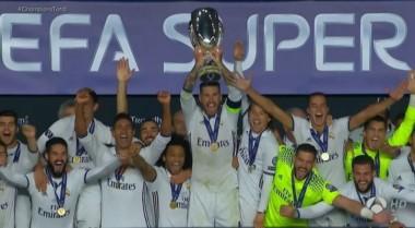El equipo de Zinedine Zidane volvió a festejar otro título tras vencer a Sevilla.
