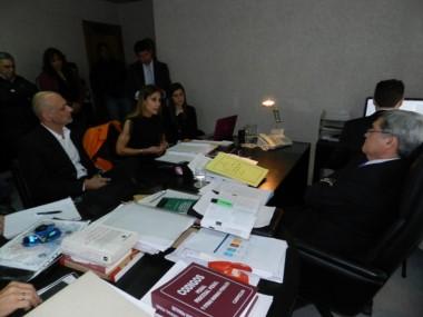 Buzzi había pedido el apartamiento de Báez y Pereira