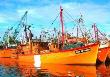 Imagen del San Antonio difundida por la Prefectura Naval Argentina.