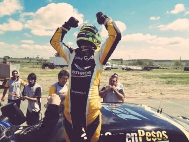 Giallombardo consiguió su 1º victoria en el Top Race V6 y se clasificó a la Etapa Final.