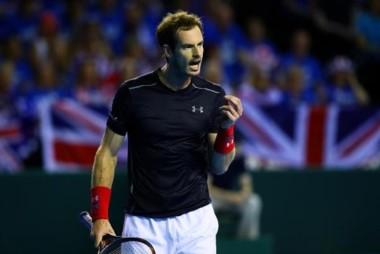 Andy Murray empardó la serie y el quinto lo definen Mayer contra Evans.