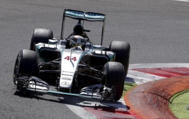 Hamilton voló en el segundo entrenamiento libre de Monza.