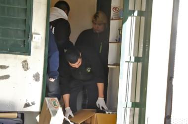 Los registros domiciliarios y secuestros corrieron por cuenta de la Brigada de Investigaciones.