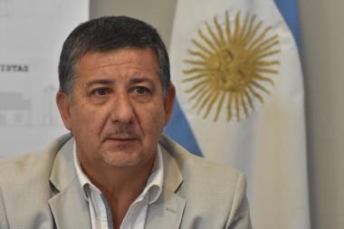 Alejandro Pagani, ministro de Infraestructura.