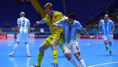 La victoria del equipo argentino llegó en el tiempo extra.