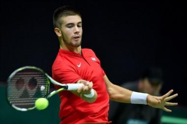 Croacia perdería a un singlista para la final de la Davis: Borna Coric, 42° del ranking ATP, podría ser operado de su rodilla derecha.