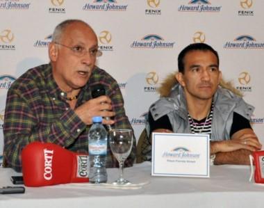El promotor Osvaldo Rivero contó que la contienda con el puertorriqueño Manny Rodríguez sería en Chubut.