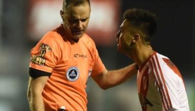 """El """"Pity"""" Martínez se perderá los partidos con Vélez y Patronato."""