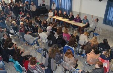 Cerca de la unidad. El justicialismo se reunió en Esquel y el lunes habrá encuentro de dirigentes en Trelew.