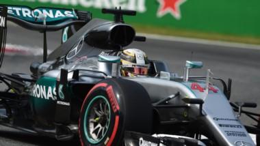 Hamilton llegó a la pole 56° de su carrera