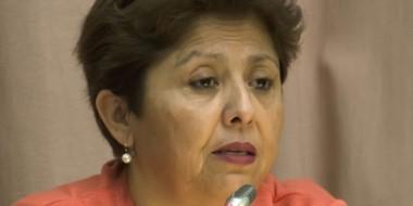 Viviana Navarro, diputada provincial del FpV.