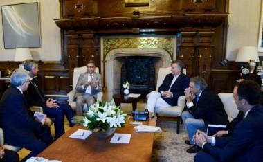 Macri recibió a Pawan Munjal, el director ejecutivo de Hero Motocorp, la compañía líder mundial en la fabricación de motocicletas.