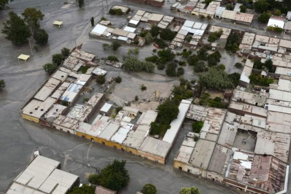 Vista aérea de Tumbaya (foto ASO/Dakar)