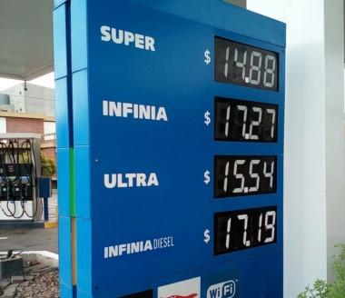 YPF dispuso nuevos precios desde hoy