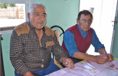 """""""Somos mapuches, pero no somos de esos, no somos violentos, nada que ver"""", dijeron los lonkos."""