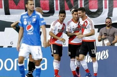 River viene de ganarle a Millonarios por 1 a 0, con gol de Alario.