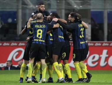 Palacio anotó un gol en la victoria del Inter por Copa Italia.