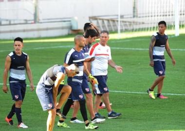 Independiente jugó un amistoso a puertas abiertas en Avellaneda.