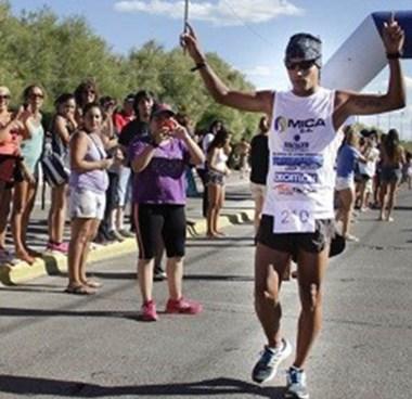 Gerardo Haro, uno de los ganadores de la Corrida de la Bahía.