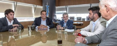 En la mesa de trabajo con Nación también participó el vicepresidente de la empresa Sedamil.