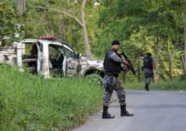 La policía de Brasil cerró calles y rutas en Manaos para atrapar a los fugitivos.