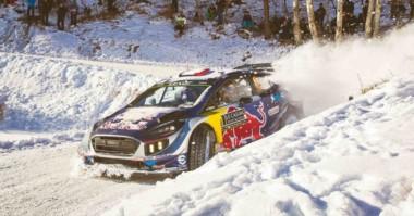 Sébastien Ogier termina con la sequía de M-Sport en Montecarlo y suma 39 triunfos en WRC.