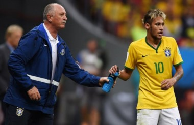 Scolari cree que Neymar Jr llegará a ser el mejor del mundo.