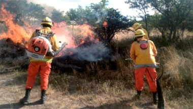 Arde La Pampa: se incendió el equivalente a casi 50 ciudades de Buenos Aires.