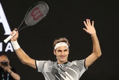 Roger Federer clasificó a su 41ª semifinal en Grand Slam y a la 13ª en el Australian Open.