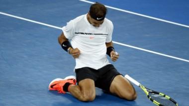 Nadal vuelve a las semifinales de un Grand Slam después de 963 días.