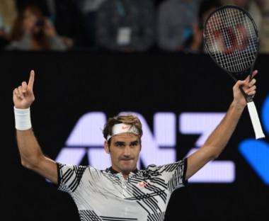 Federer, a la final siete años después, la nro 28 de GS.