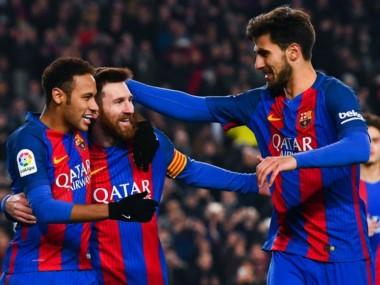 De la mano de Messi, el Barcelona está en semis.