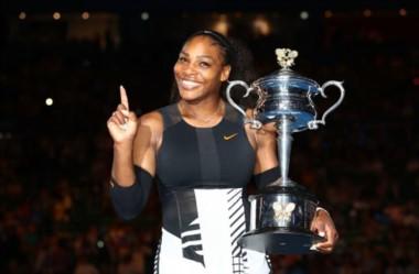 Serena ganó su 23er Grand Slam, marca máxima como profesional al pasar a Graf.