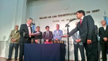 Pablo Durán quedó al frente del Ministerio de Gobierno