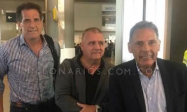 Miguel Ángel Russo llegó a Bogotá y desde ya planifica su Millonarios 2017.