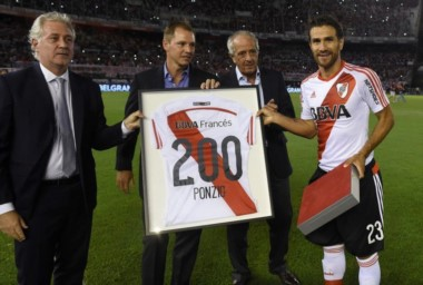 Ponzio renovara su vínculo con River por un año más. Es probable que en diciembre, se retire del fútbol.