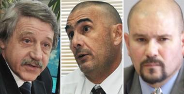 Los rostros de la Cámara. Minatta, Defranco y Barrios, de nuevo son noticia por un polémico fallo.