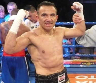 Omar Narváez se prepara para la pelea eliminatoria con el boricua