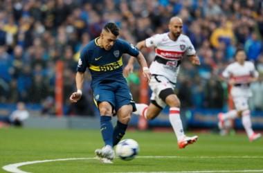 Boca sorprendió desde el arranque y derrotó a Chacarita con gol de Pavón.