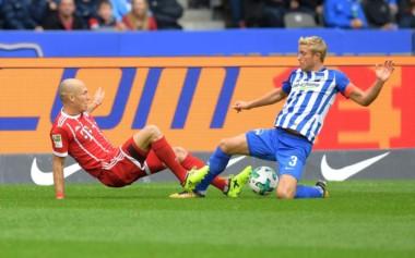 Con Willy Sagnol en el banco, Bayern Munich ganaba 2-0 pero se durmió y el Hertha Berlín lo empató.