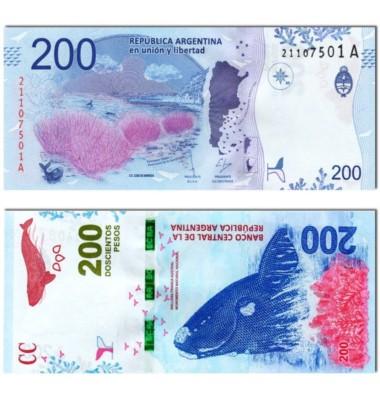 El billete de 200 pesos con la imagen de la ballena franca austral ganó el premio LatiNum al mejor de latinoamérica.