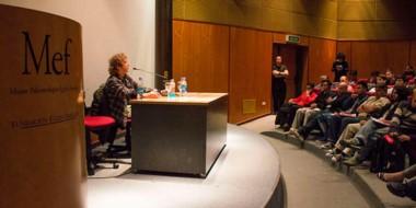 La actividad se desarrolló en el MEF de Trelew, organizada por la Secretaría de Cultura y el INAMU.