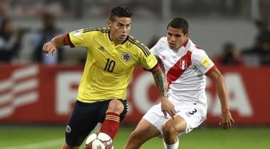 El gol de James Rodríguez le dio la clasificación. Perú jugará con Nueva Zelanda el repechaje.