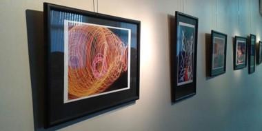 Las obras de los alumnos de la Escuela Nº 712  que se exhiben en la Sala de Arte de Diario Jornada.