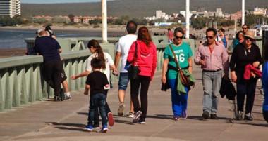 En la ciudad comenzó a observarse movimiento de visitantes que se intensificará a durante el fin de semana.