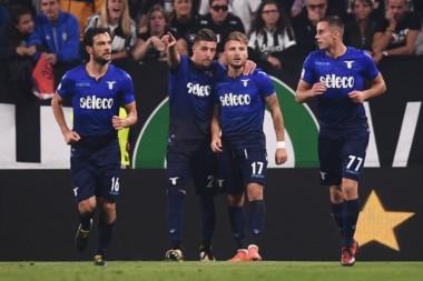 """Lazio le quitó a la """"Juve"""" una racha de 41 partidos de Serie A sin perder como local."""