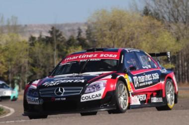 Canapino ganó la primera carrera del TRV6 en Oberá.