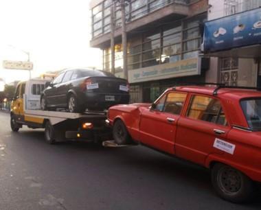 En el operativo de control callejero hubo 11 vehículos secuestrados.